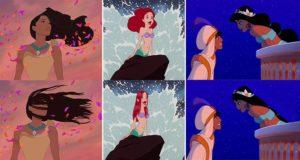 Disney Princesses Realistic Hair