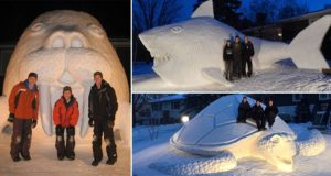 Epic Snow Sculptures