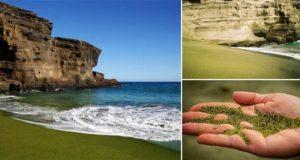 Papakolea Green Beach
