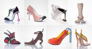Artistic High Heels