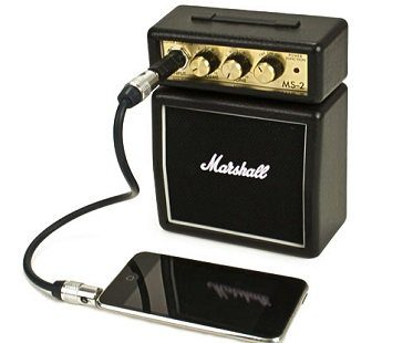 Micro Amp black marshall