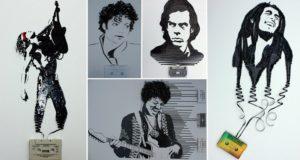 cassette tapes art