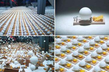 Ping Pong Balls Mousetraps