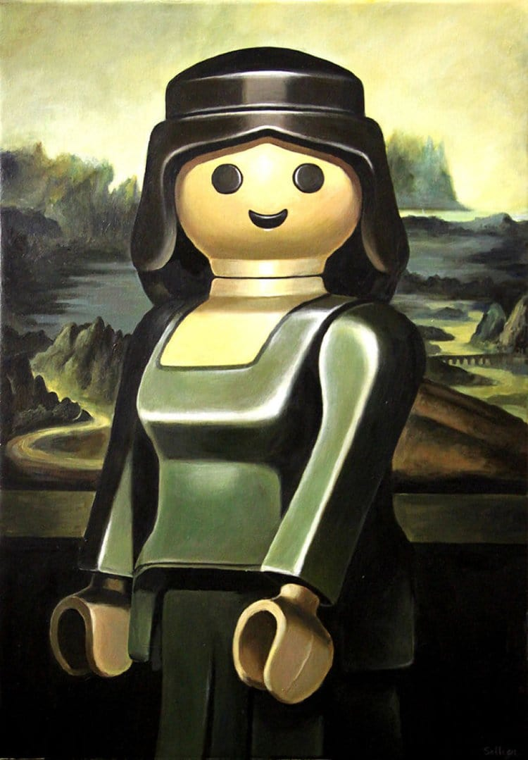 Characters In Classic Paintings Replaced With Playmobil