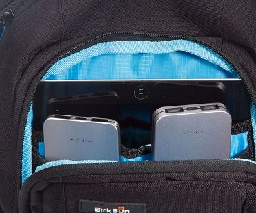 Solar Battery Charger Backpack birksun