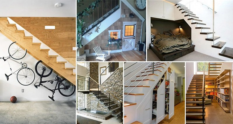 Lighting Basement Washroom Stairs: 16 Awesome And Creative Ways To Use The Space Under Your