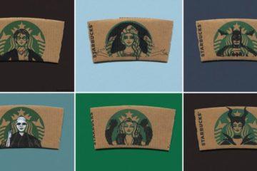 Starbucks Sleeves Characters