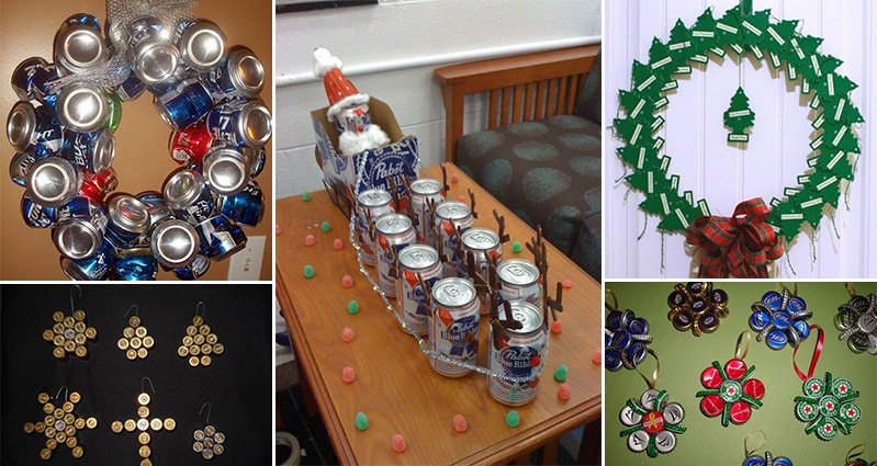 Strange DIY Christmas Decorations