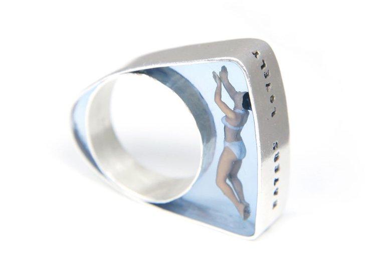 Swimmer-ring