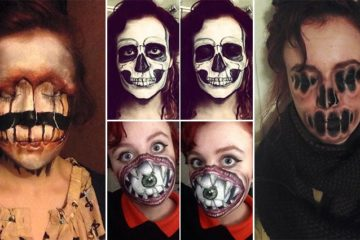 creepy Awesome Face Paints