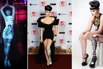 Viktoria Modesta Prosthetic leg
