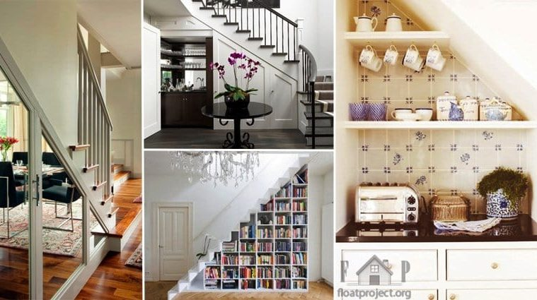 Ways To Use Under Stairs Space Ideas