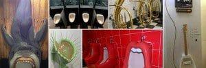 Creative and Weird Urinals