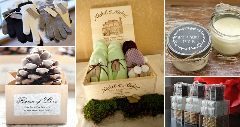 Winter Wedding Gifts: 16 Winter Wedding Favors To Impress Your Guests