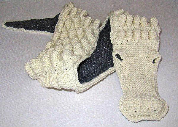 alligator scarf