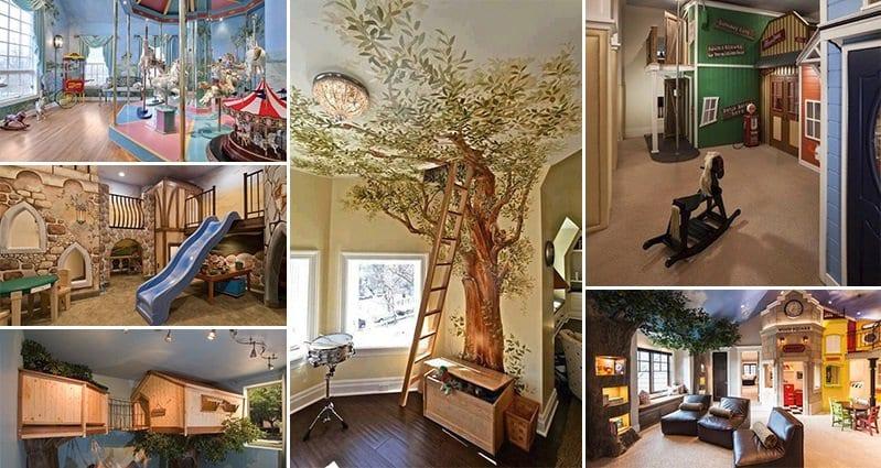 Amazing Playrooms Design Decoration