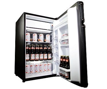amplifier fridge marshall open