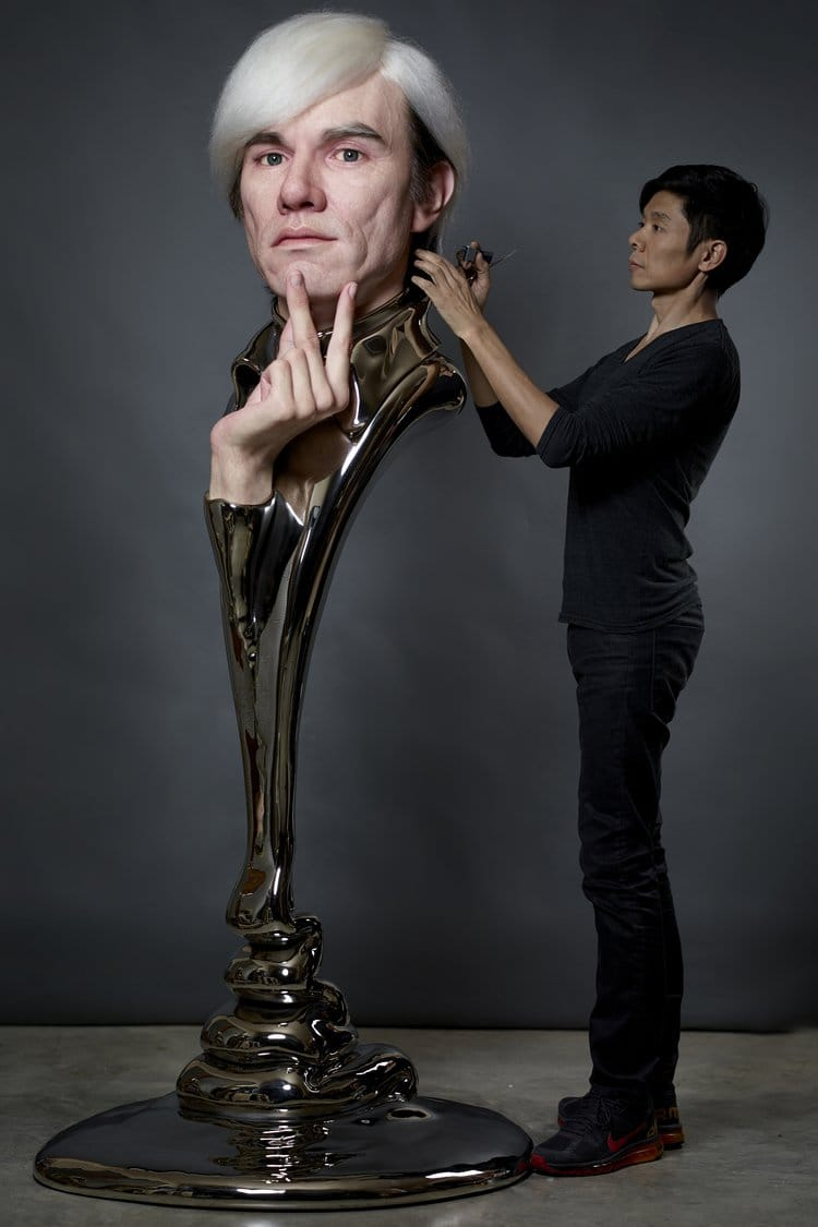 andy warhol bust artist