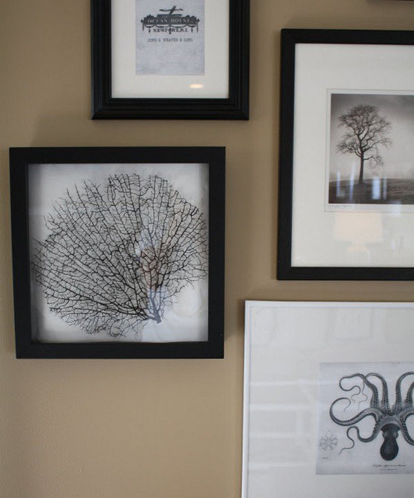 art framed walls