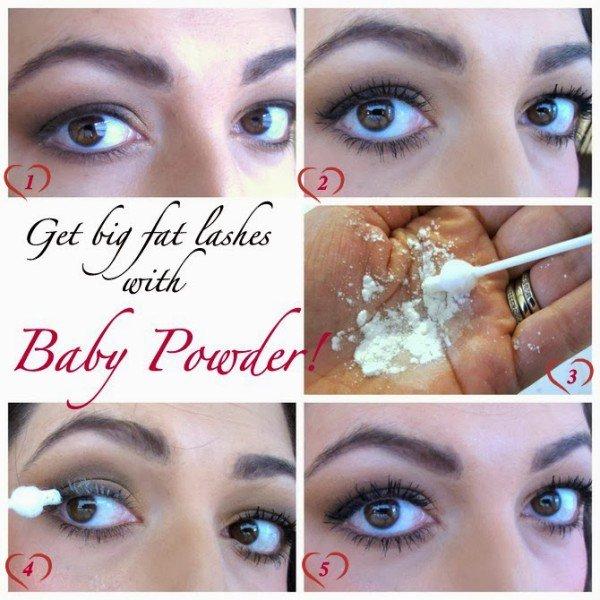 baby powder lashes