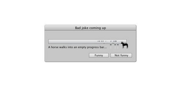 bad joke progress bar