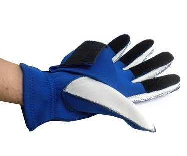 beer holding glove palm