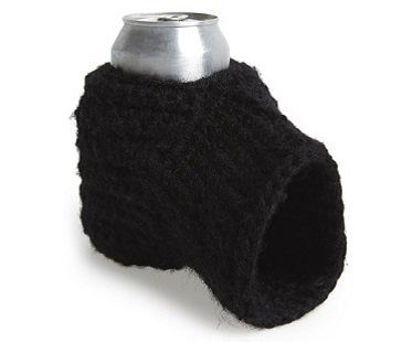 beer mitt black
