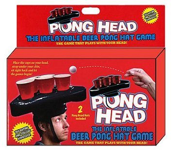 beer pong hat box