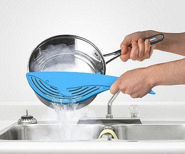 blue whale pot strainer