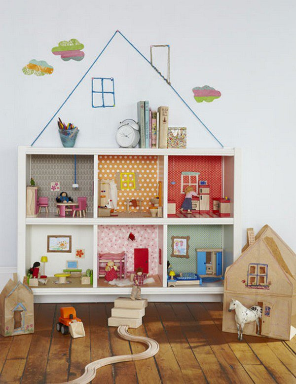 bookcase dollhouse ikea