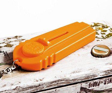 bottle opening cap launcher