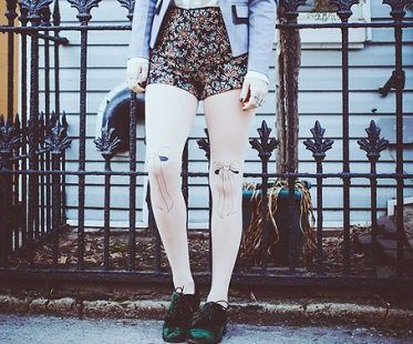 bow-tie-tights-pantyhose