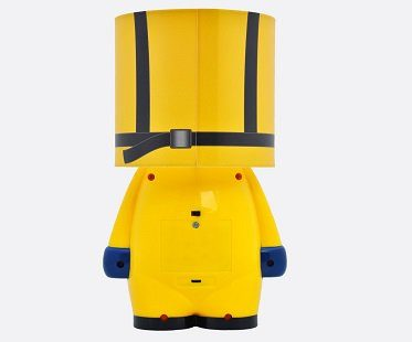 breaking bad cook suit lamp back