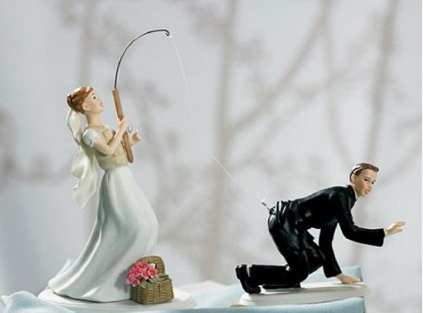 bride fishing