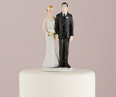 funny wedding cake toppers for older couples pinching groom cake topper 14598