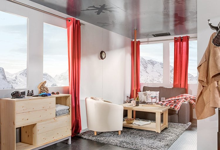 cable-car-hotel-alps-france-sofa