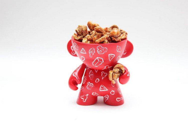caramel popcorn doll
