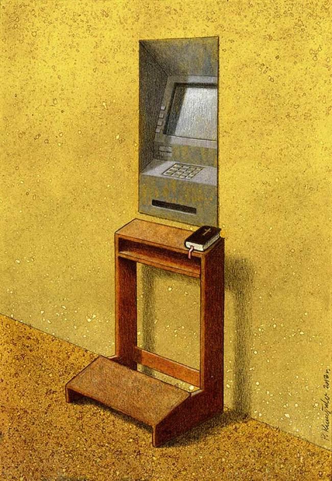 cash machine pray