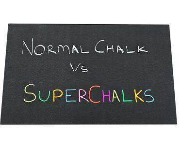 chalk marker pens blackboard