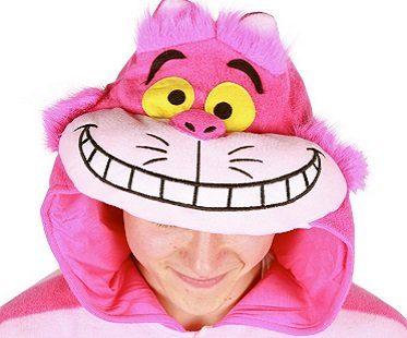 cheshire cat onesie hood