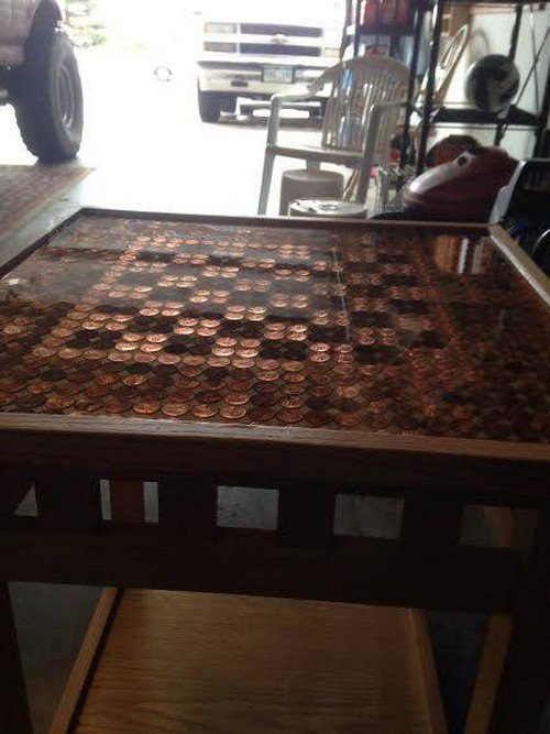chess table close
