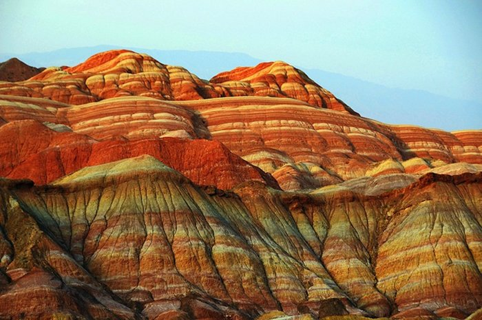 china-zhangye-danaxia-landform-mountain