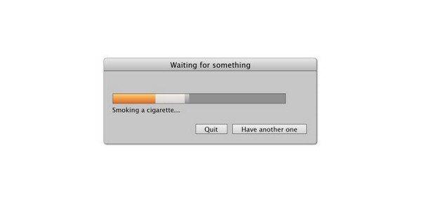 cigarette progress bar