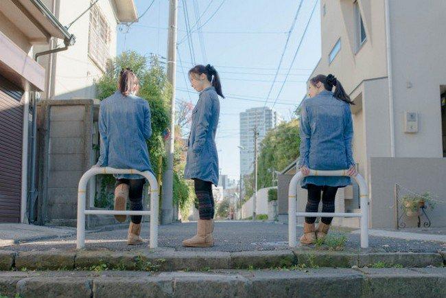 clone girls denim dresses
