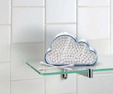 cloud cotton swab holder