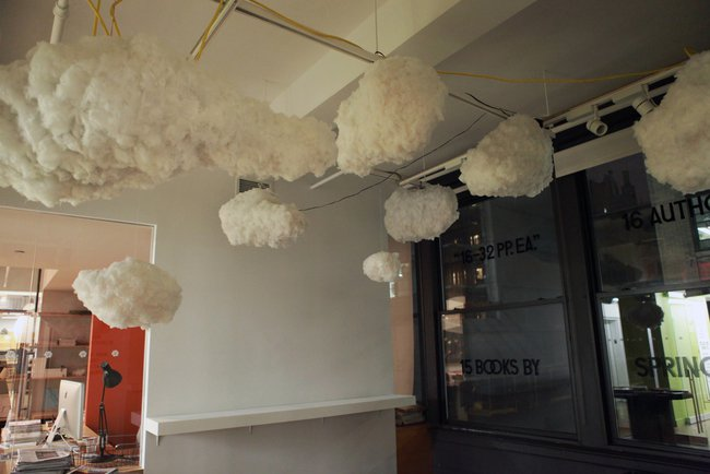 cloud lamps hanging