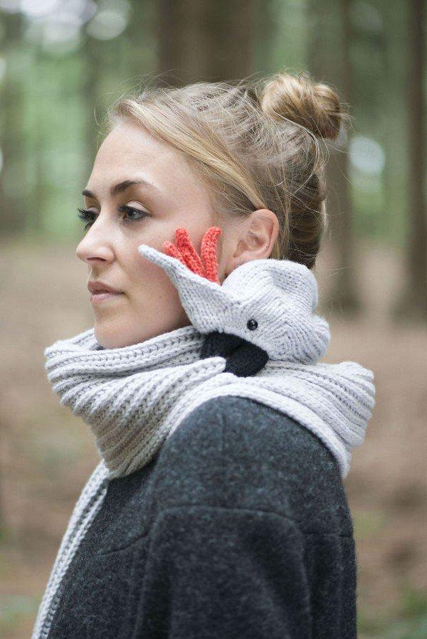 cockatoo scarf