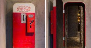 coke machine hidden bar