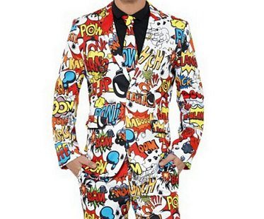 comic strip suit close