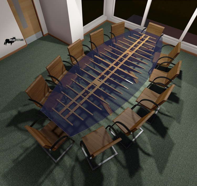 ... By Devising Your Plans Around This Awesome Viking Conference Table
